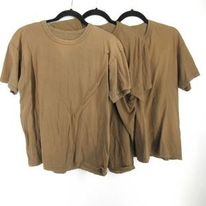 Vintage Soffe T Shirt 3 Pack Lot Brown USA Made